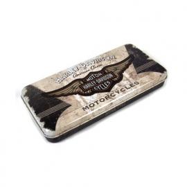 Harley-Davidson - Tin Pencil Box - Wing Logo