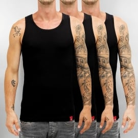 Dickies - Men's fitted Tank Top - BLACK