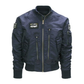F-35 Flight Jacket - Navy Blue