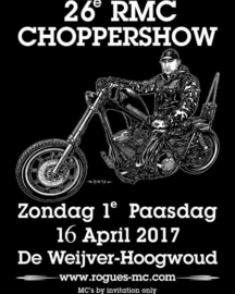 x 2017/04, 17 apr. - 26th Choppershow Rogues MC