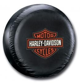 Harley-Davidson - Tire Cover - Orange Logo