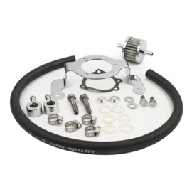 AIR CLEANER ADAPTER BRACKET KIT - 99-17 & Customs