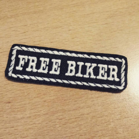 PATCH - Flash / Stick with rope design - FREE BIKER