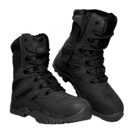 Recon/Combat Boots - Full Leather - Black or Army Green