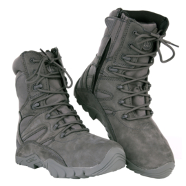 Recon/Combat Boots - Full Leather - Wolf Grey
