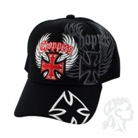 Baseball Cap - Choppers - Black - Clearance / End of Stock