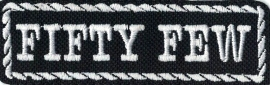 335 - PATCH - Flash / Stick with rope design - FIFTY FEW
