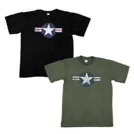 T-shirt - WWII Vintage USAF - ARMY