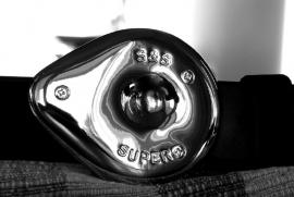 Belt Buckle - S&S Super Air Filter - Original
