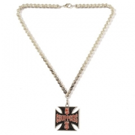 Biker - West Coast Choppers Cross - Necklace / Chain