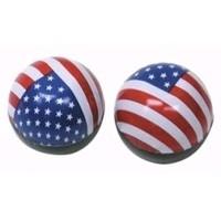 Valve Caps - American Flag / USA - Trik Topz