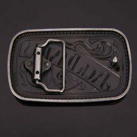 Belt Buckle - Jack Daniels - Square - Old No.7 Brand