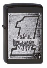 Harley-Davidson Zippo - #1 - Metal Number One