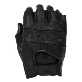 Gloves - Leather - Fingerless
