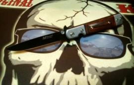 Mtech Knife - Stainless Steel - Woodmaster