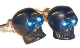 Skull - LED - BLACK - fasteners