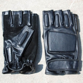 Gloves - Security / Police - halve vingers - Mofjes