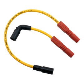 Accel Yellow 8MM Spark Plug Wire Set For Harley-Davidson XR1200