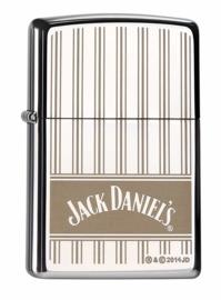 Zippo - Jack Daniel's - High polished Chrome - Stripes