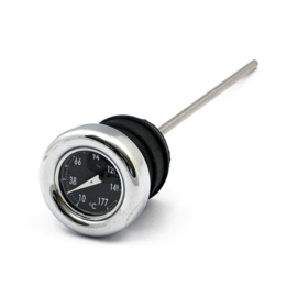 Dipstick - Harley-Davidson Softail - 70-84 - Black Temperature Readout