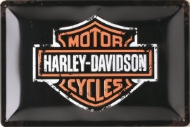 Harley-Davidson - Tin Sign - Vintage - medium size