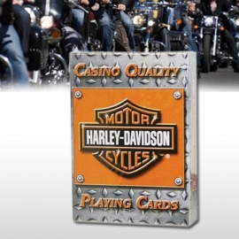 Harley-Davidson - Playing Cards Casino Quality
