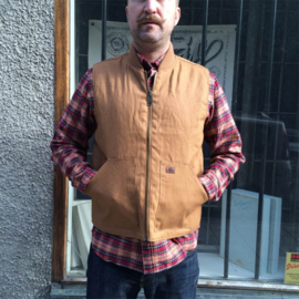 DellWood  Calverton Brown Duck Vest - 2XL XXL only
