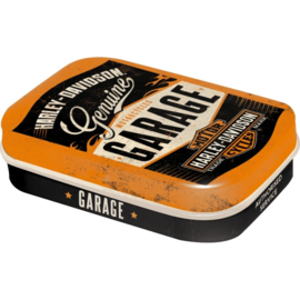 Harley-Davidson © - GARAGE - Pill Box with peppermints