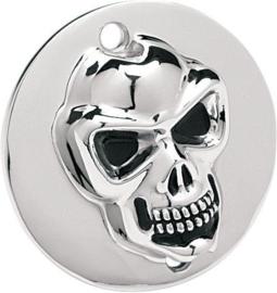 Skull Point Cover - CHROME - SPORTSTER 86-03