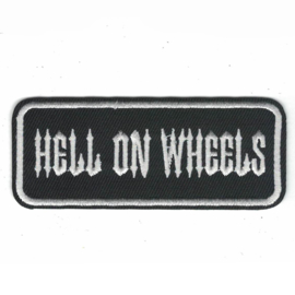 PATCH - HELL ON WHEELS