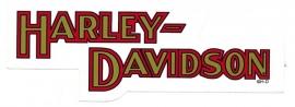 HARLEY-DAVIDSON 85X30mm - DECAL