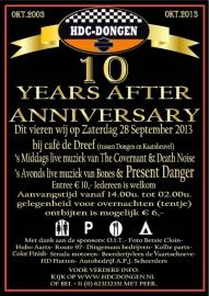 10 Years Anniversary HDC Dongen