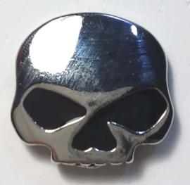 Pin -  Willie G Skull - Black Eyes
