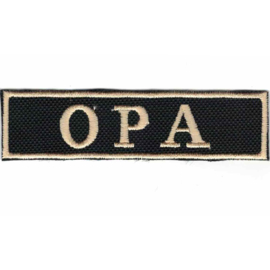 Golden PATCH -Flash / Stick - OPA  (Dutch grandpa)