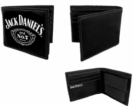 Porefeuille - Jack Daniels -Black Bifold - No. 7 Logo