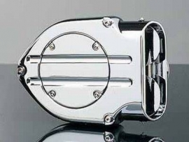 HYPERCHARGER CHROME TWIN CAM AIR CLEANER / FILTER