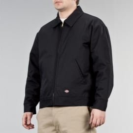 Dickies - Lined Eisenhower Jacket - Black