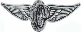 060 - small PATCH - Winged Wheel