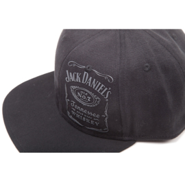 Jack Daniels - Adjustable Vintage Black Cap - Original Logo
