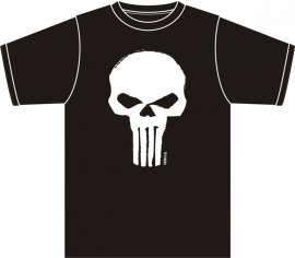BadBoy T-shirt - Punisher / Skull - 5XL