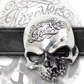 Alchemy - Belt Buckle - Nevermore Skull