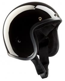 Bandit Jet Helm - Glanzend Zwart