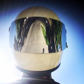 Biltwell Gringo S - Shield Visor - Anti-FOG - Chrome Mirror