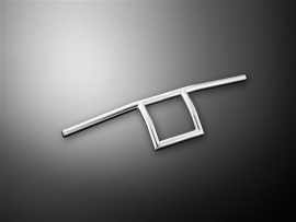 "HANDLEBAR - Square Chrome - 1"" version"