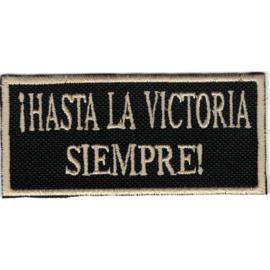 Golden PATCH - ! HASTA LA VICTORIA SIEMPRE - Havana - Che Guevara