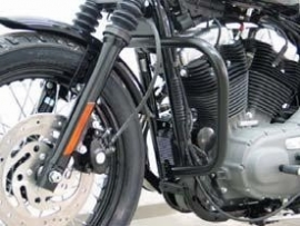 Black Crash Bars - Harley-Davidson Sportster Models 2004-up