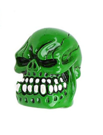 Valve Caps - Green 3D Demon Skull