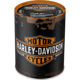 "Harley-Davidson ""Genuine"" Money Box"