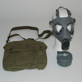 GasMask - Grey - with bag & filter