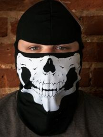 Balaclava Face Mask - Skull - made by Fosco